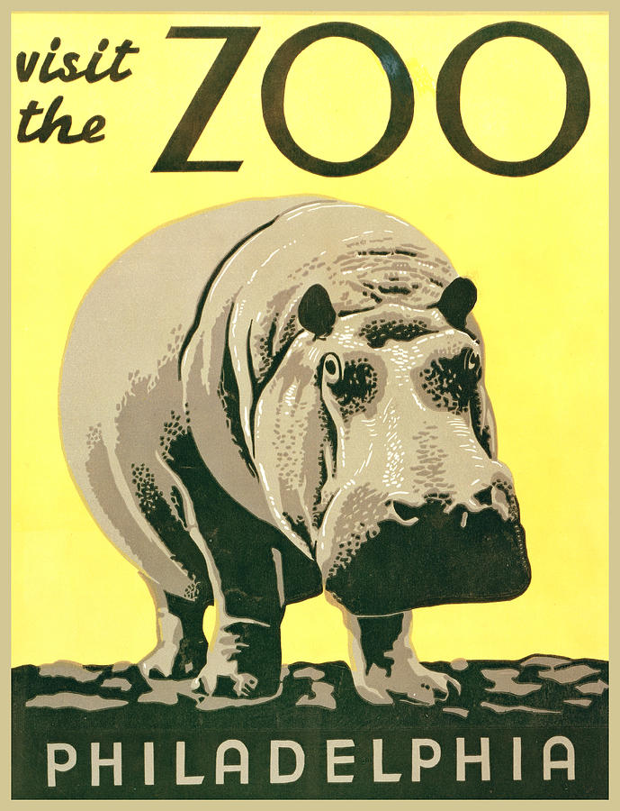 Visit The Zoo Digital Art  - Visit The Zoo Fine Art Print