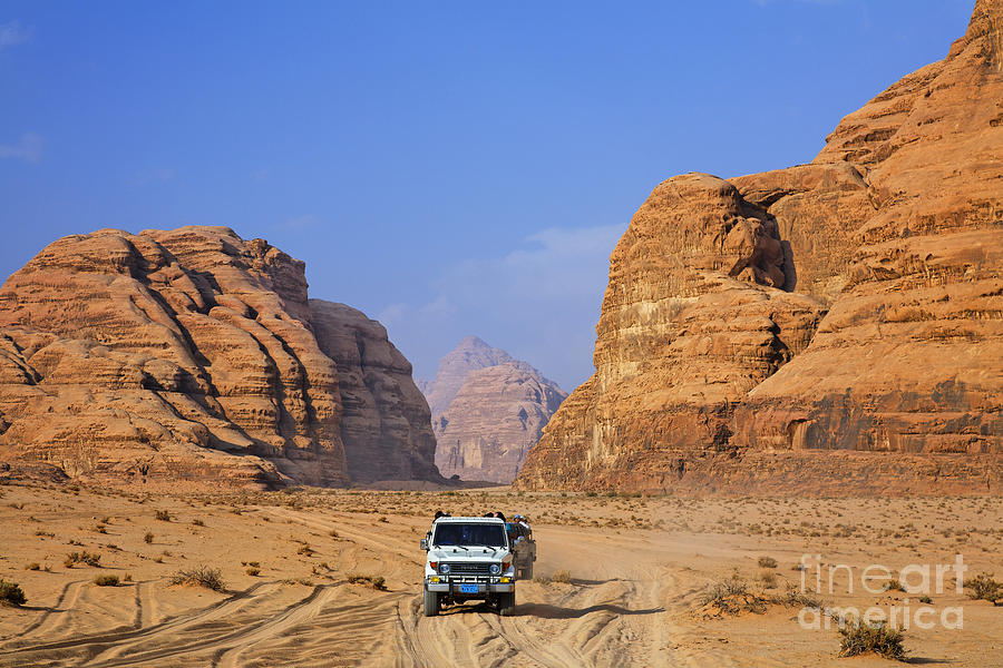 Wadi Rum Photograph - Wadi Rum In Jordan by Robert Preston