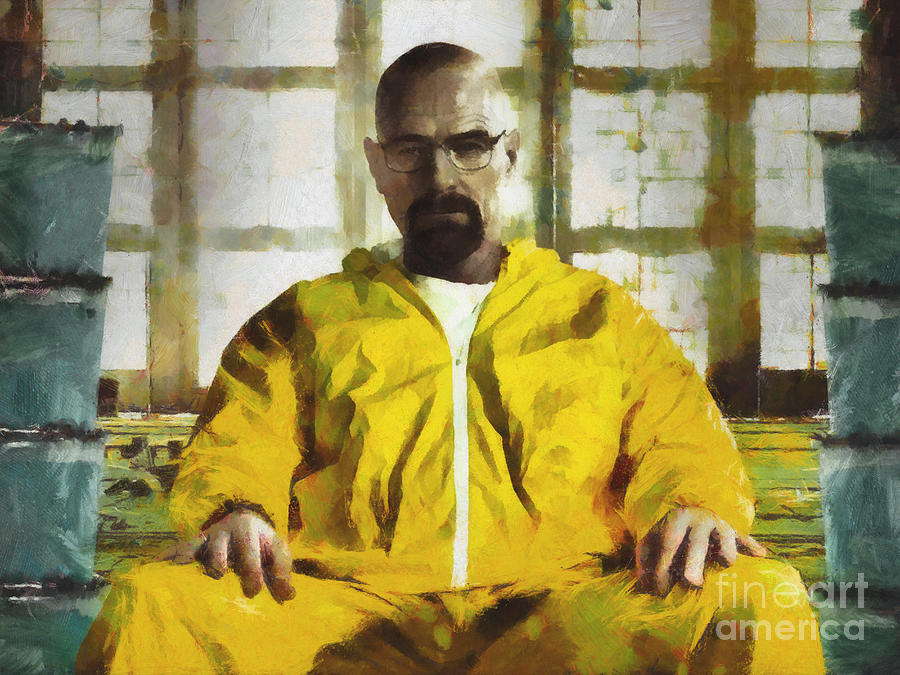 Walter White Breaking Bad Painting