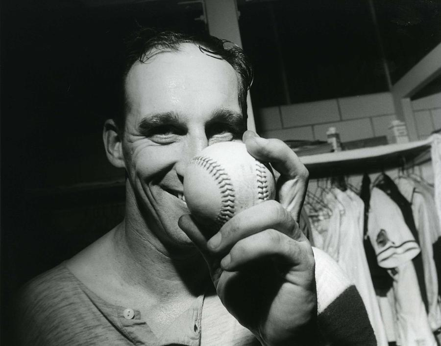 Warren Spahn Photograph