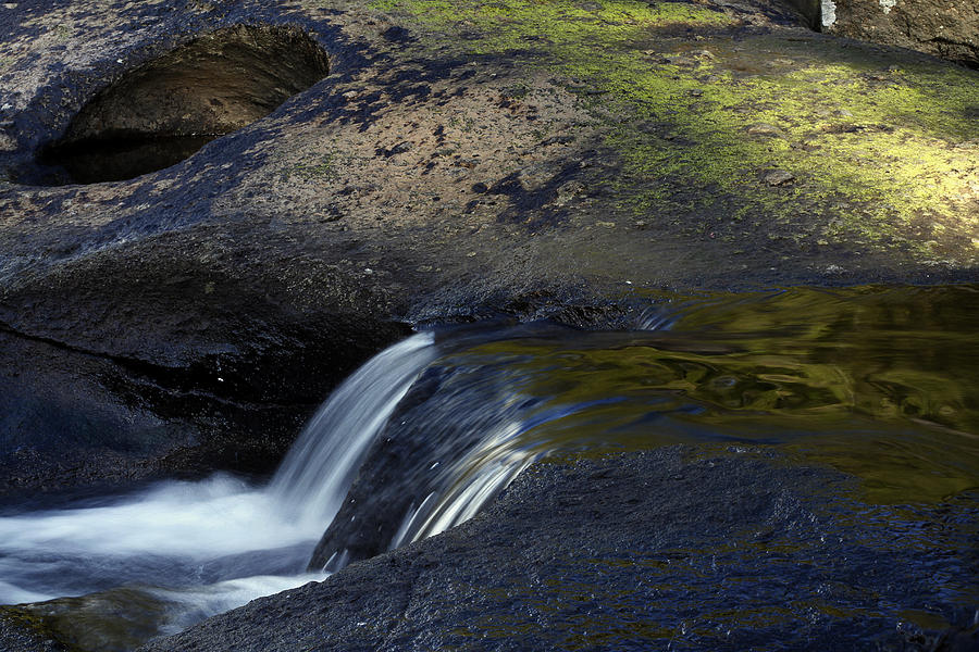 Water Flowing Photograph  - Water Flowing Fine Art Print