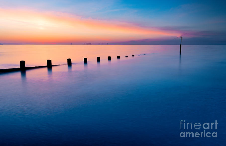 Welsh Sunset Photograph  - Welsh Sunset Fine Art Print