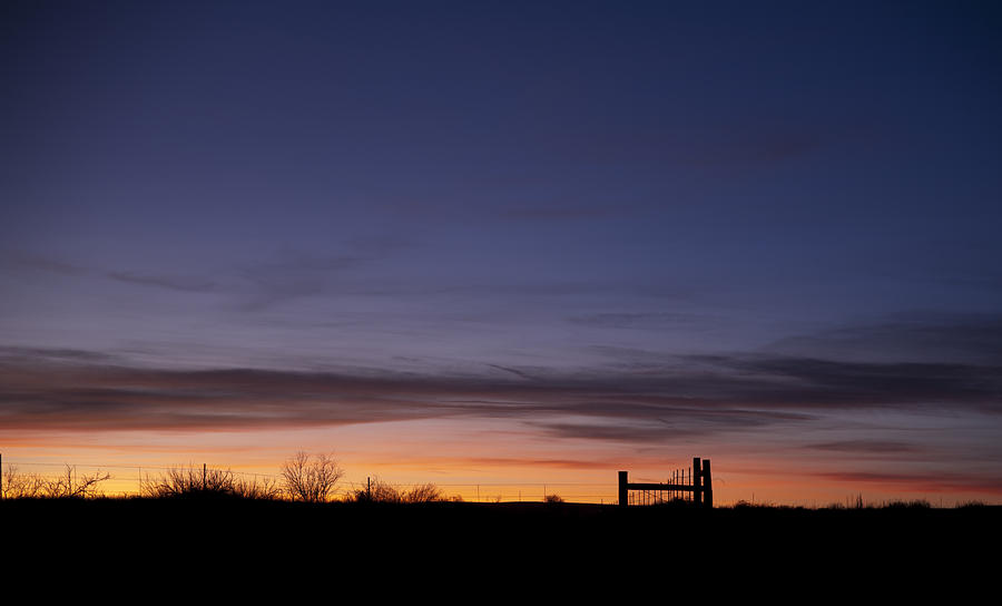 West Texas Sunset Photograph