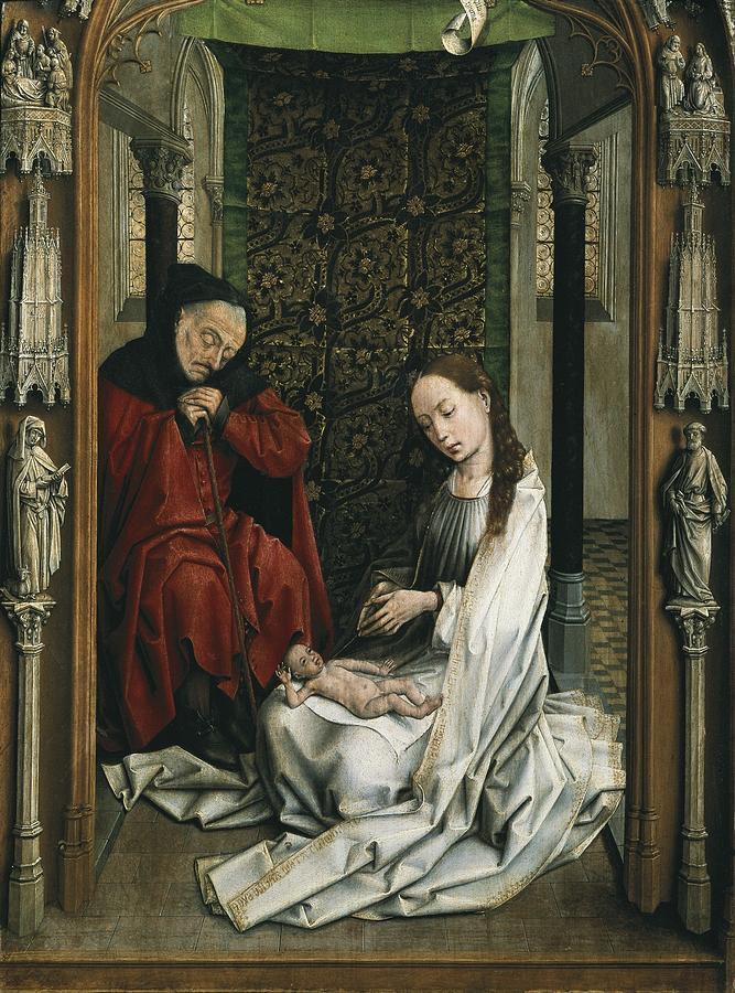 Vertical Photograph - Weyden, Rogier Van Der  1400-1464 by Everett