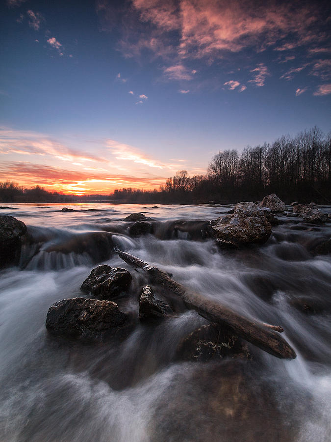 Landscapes Photograph - Wild River by Davorin Mance