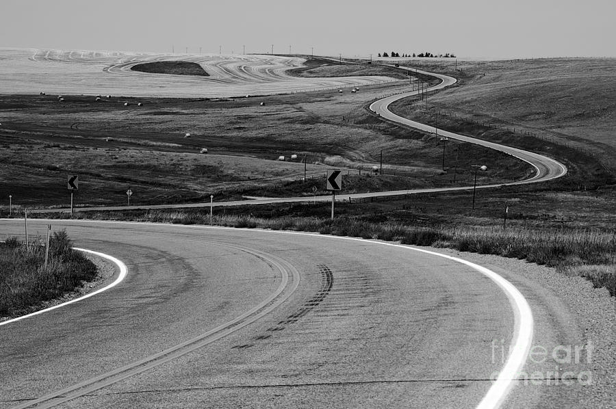 Winding Road Photograph  - Winding Road Fine Art Print