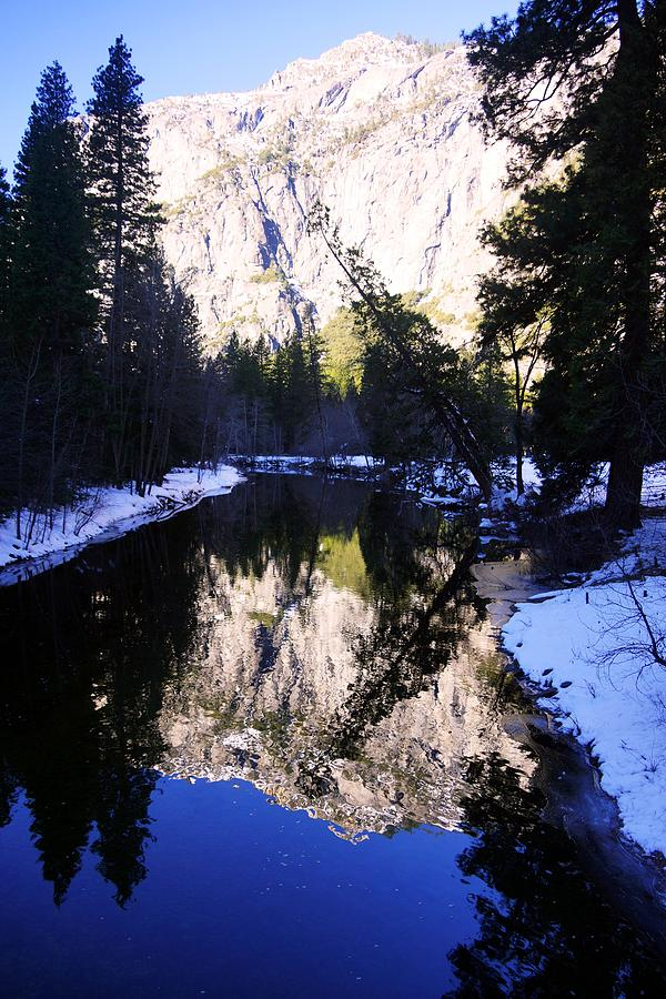 Winter Reflection Photograph