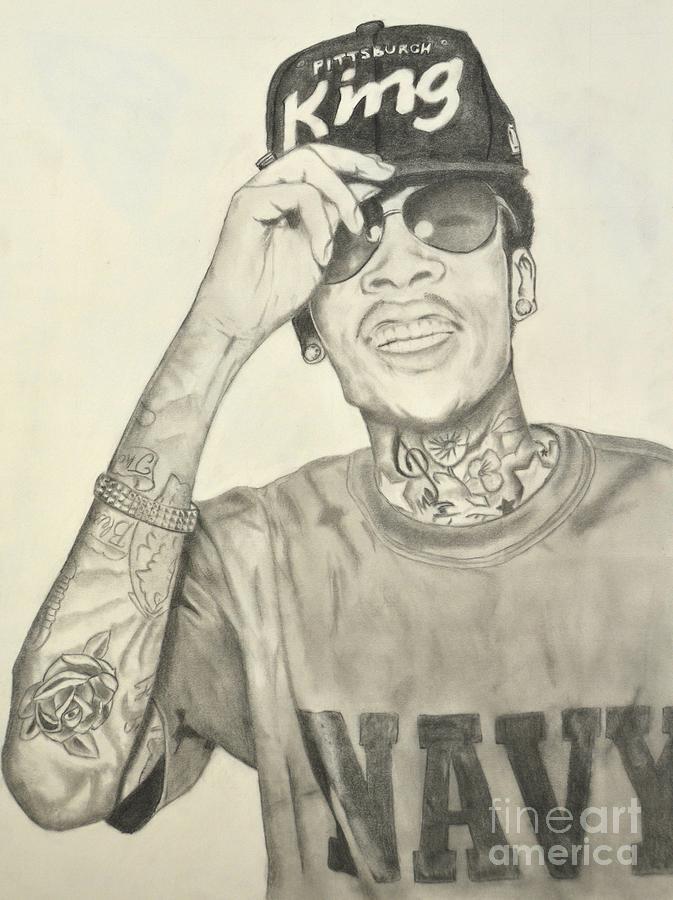 Wiz Khalifa Drawing - Wiz Khalifa Fine Art Print Images ...