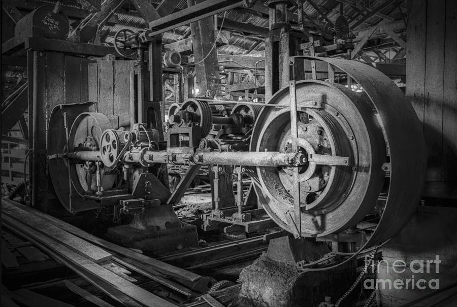Wooden Sawmill Photograph