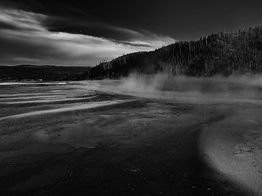 Yellowstone Geyser Photograph