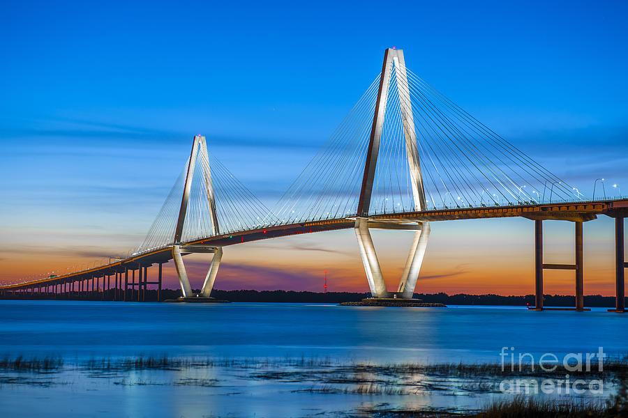 Charleston Arthur Ravenel Bridge Photograph