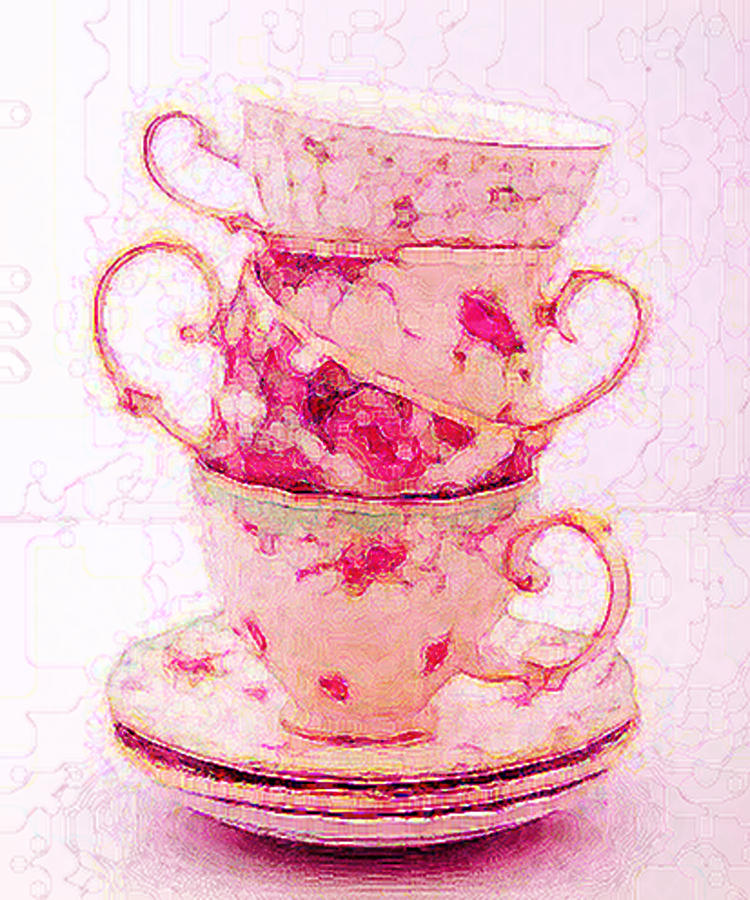 Before Tea Digital Art
