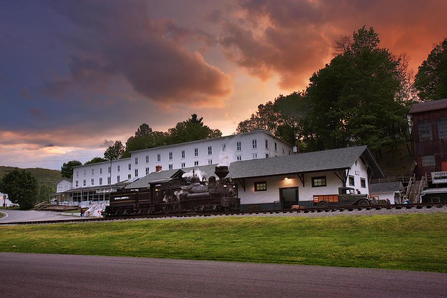 Cass Scenic Railroad Photograph