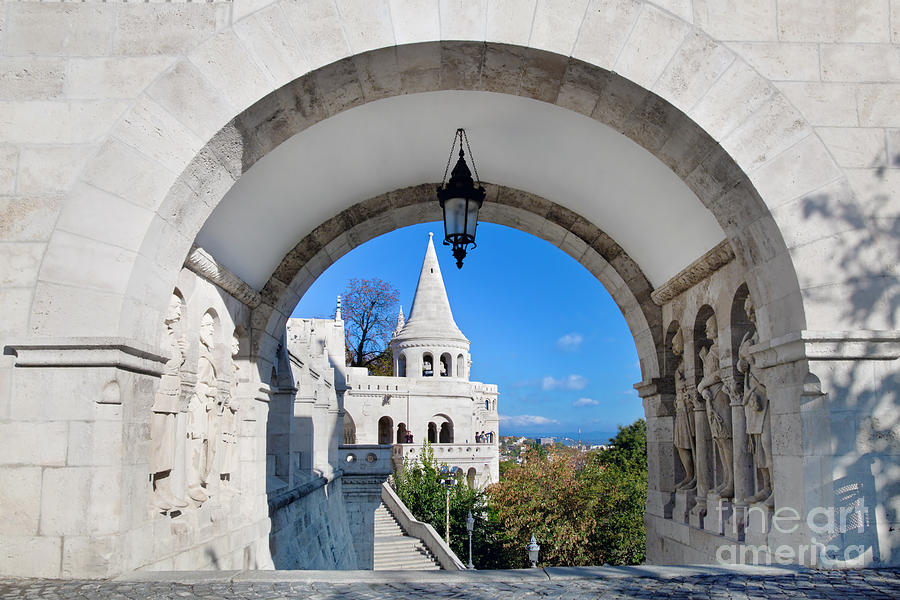 Fishermans Bastion In Budapest Photograph