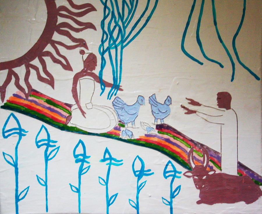 Kintu And Nambi Painting