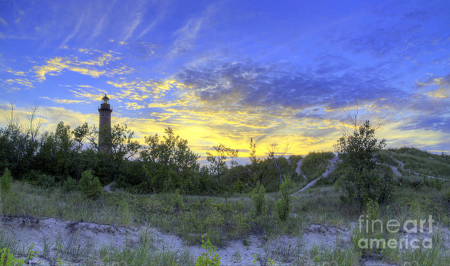 Little Sable Lighthouse Photograph  - Little Sable Lighthouse Fine Art Print