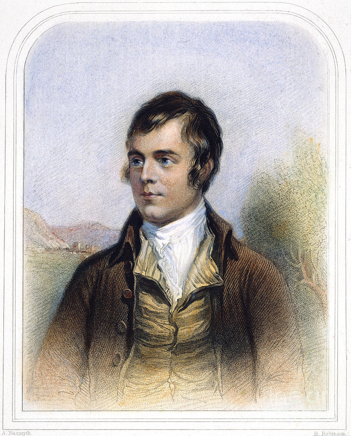 Robert Burns 1759-1796 Photograph  - Robert Burns 1759-1796 Fine Art Print