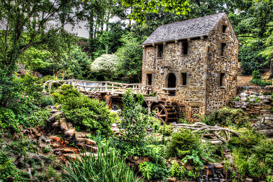Arkansas Photograph - 1007-2693 Pughs Old Mill  by Randy Forrester