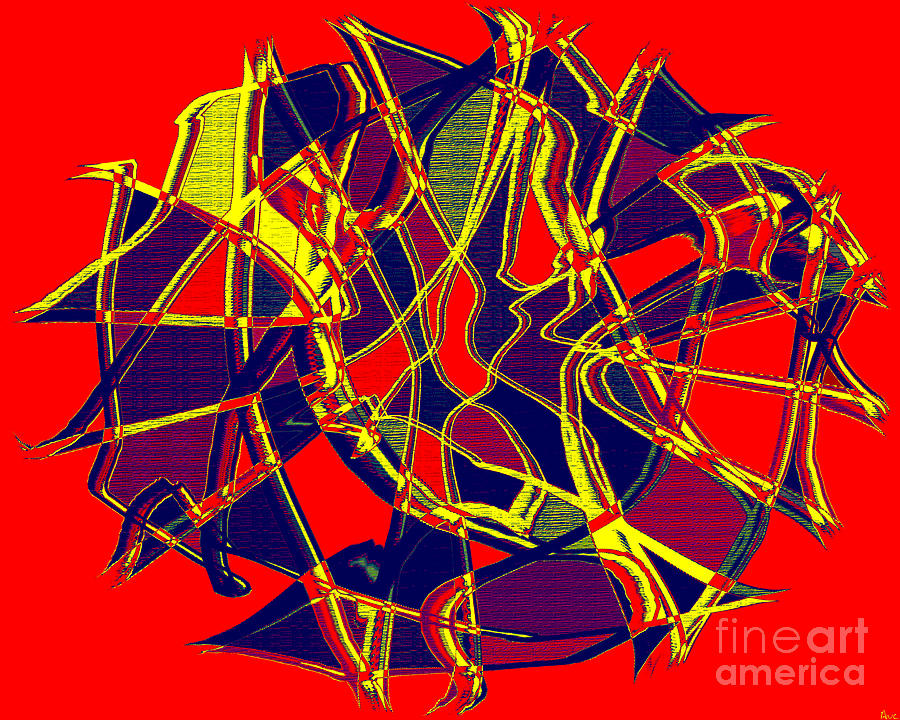 1010 Abstract Thought Digital Art