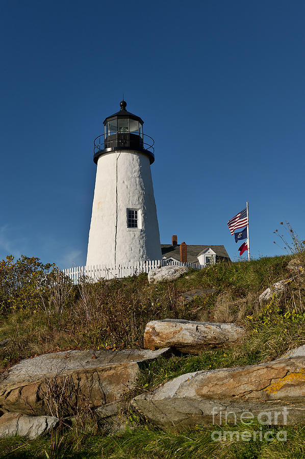 Pemaquid Point Lighthouse Photograph