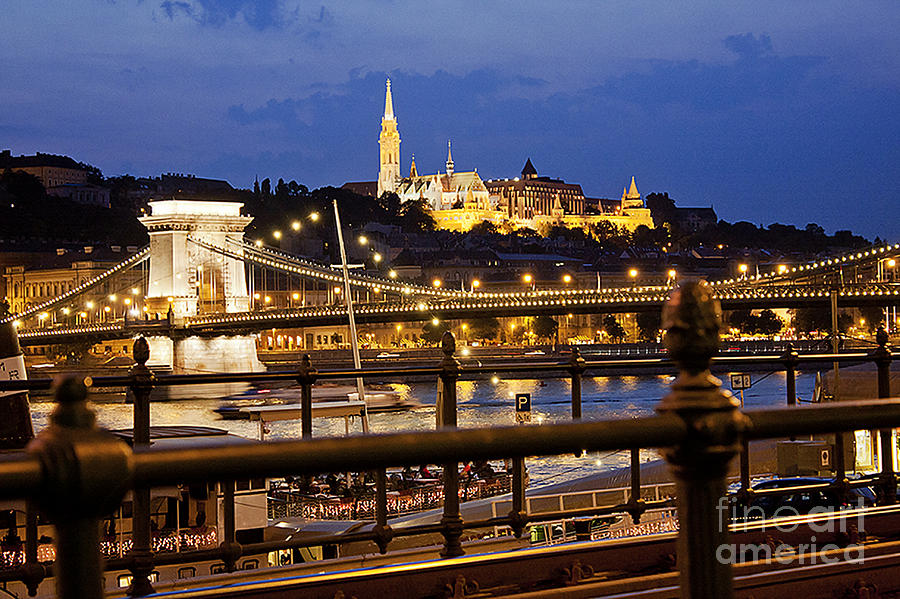 Budapest By Night Photograph  - Budapest By Night Fine Art Print