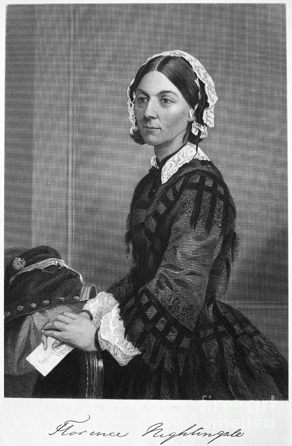 Florence Nightingale Photograph  - Florence Nightingale Fine Art Print