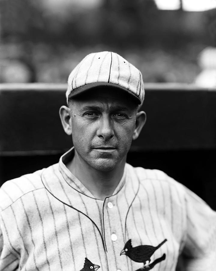 Baseball Photograph - Jesse J. Haines by Retro Images Archive