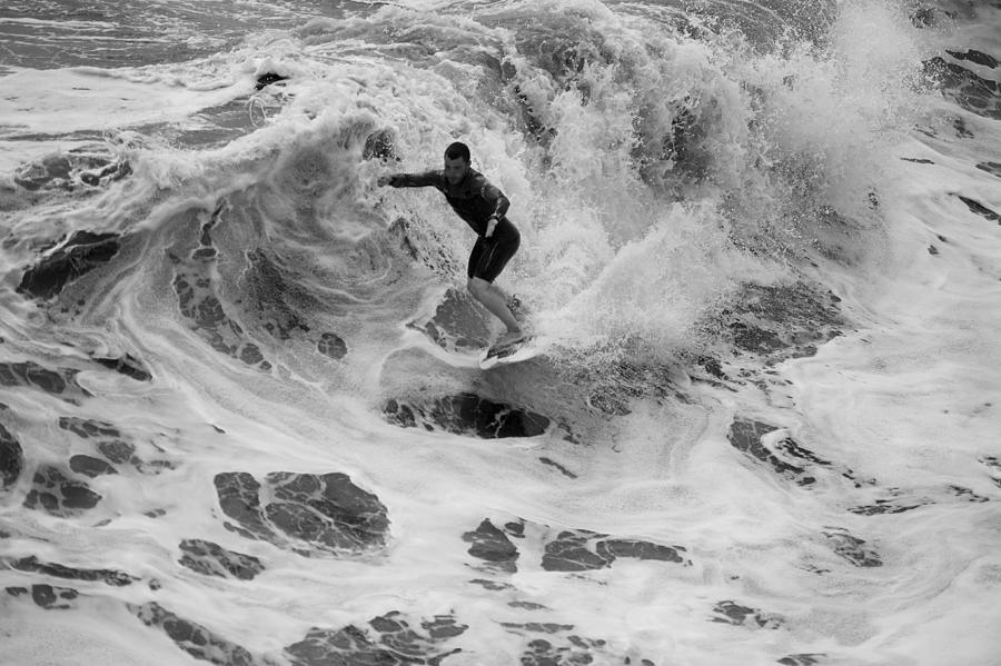 Surfing Photograph - 12 by Joey  Maganini