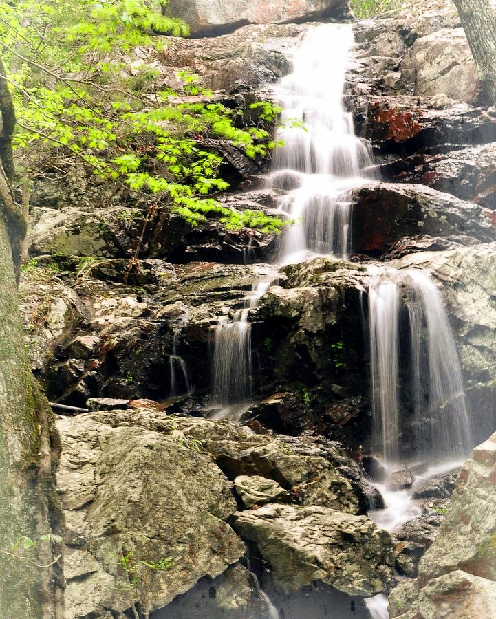 Waterfall Photograph - 1201 by Marty Koch
