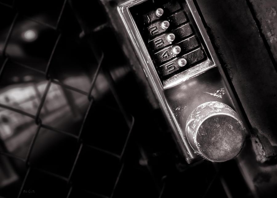 Keypad Photograph - 12345 by Bob Orsillo