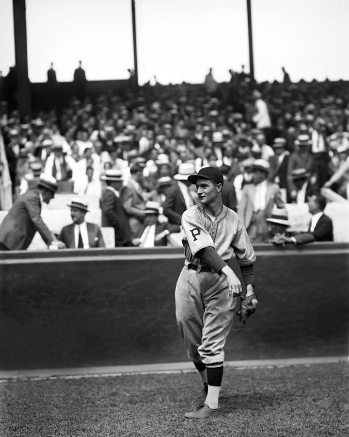 Baseball Photograph - Lloyd J. Waner by Retro Images Archive