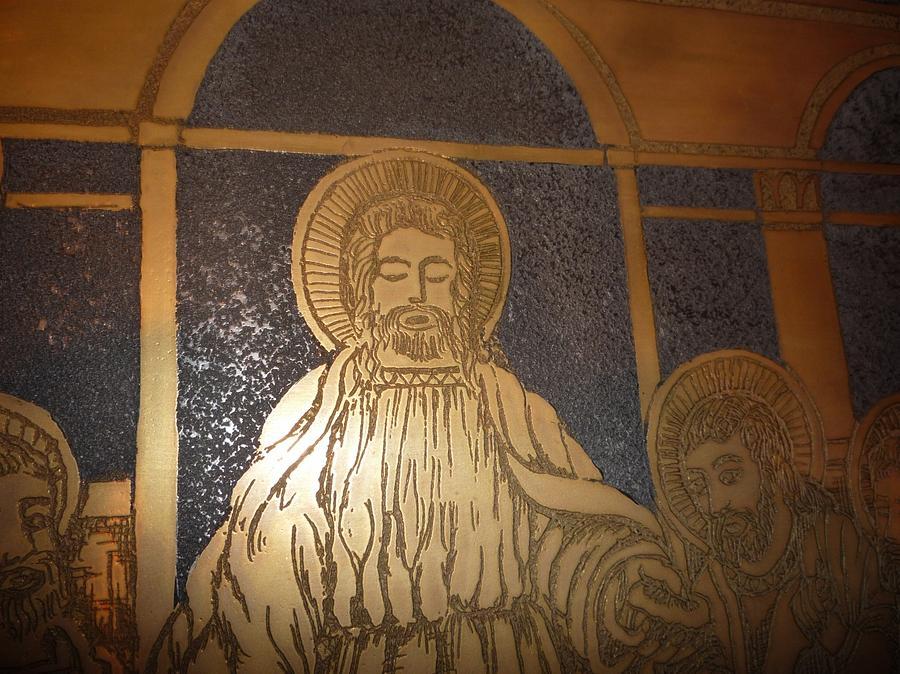 The Last Supper  Glass Art