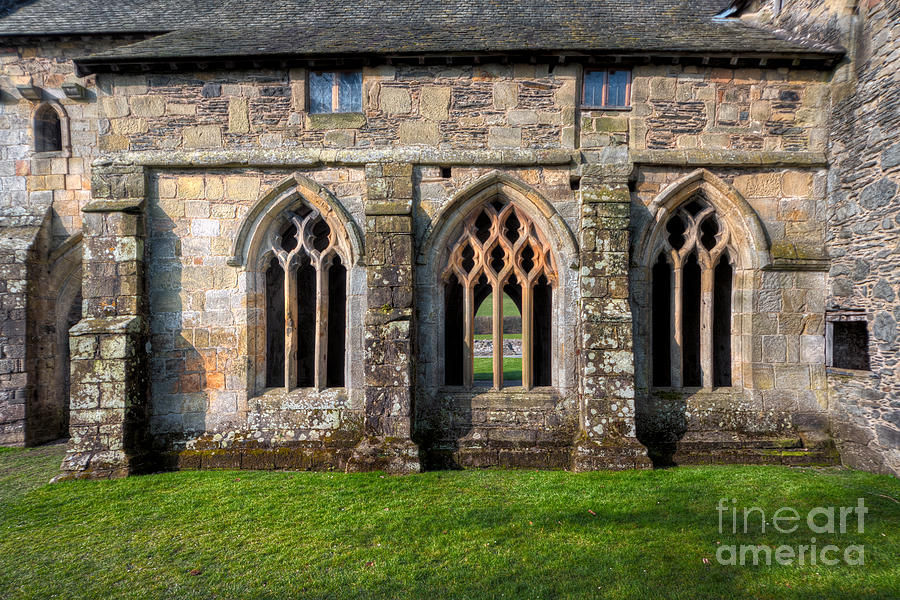 13th Century Photograph - 13th Century Abbey by Adrian Evans