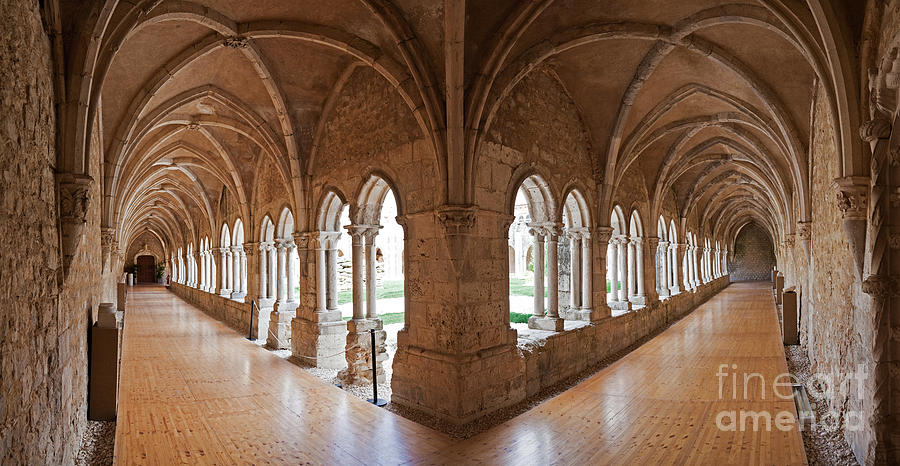 13th Century Gothic Cloister Photograph