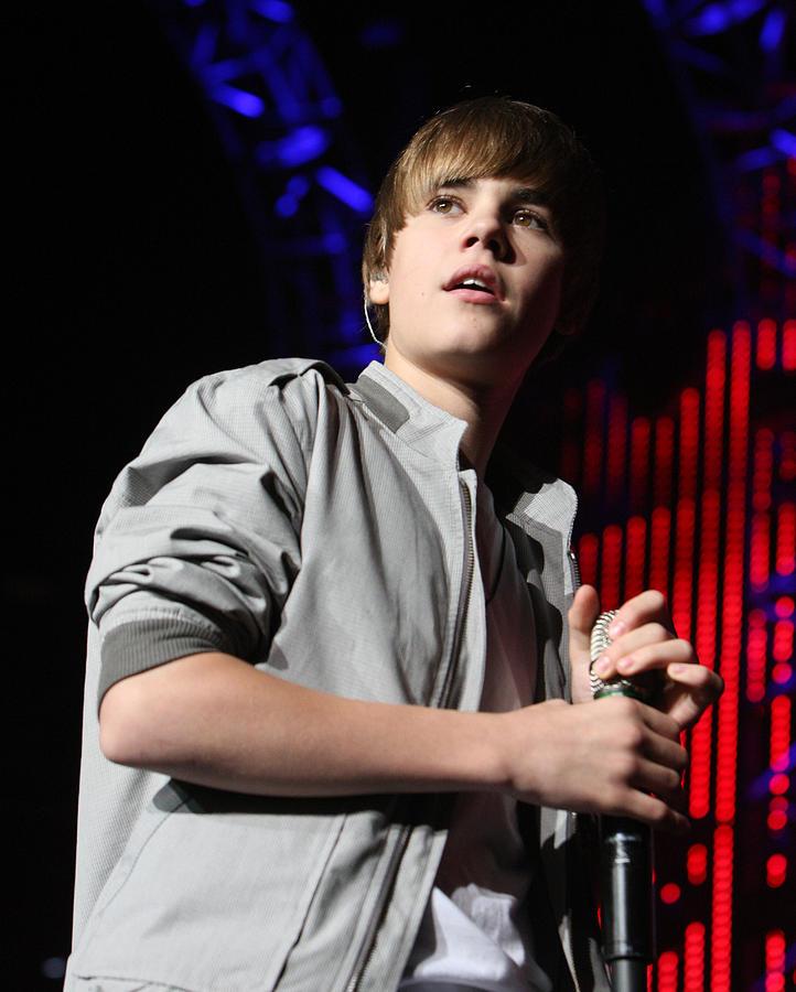 Justin Bieber Live Photograph