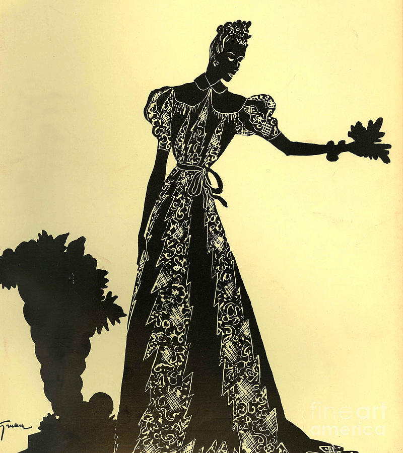 1930�s Drawing - Women�s Fashion 1930s 1939 1930s Uk by The Advertising Archives