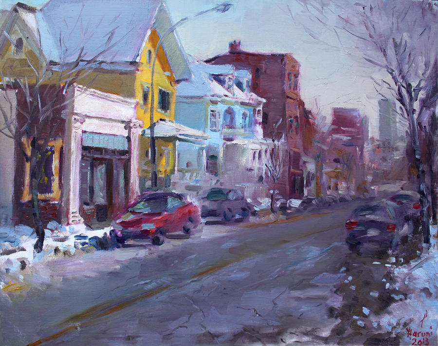 149 Elmwood Ave Savoy Painting  - 149 Elmwood Ave Savoy Fine Art Print