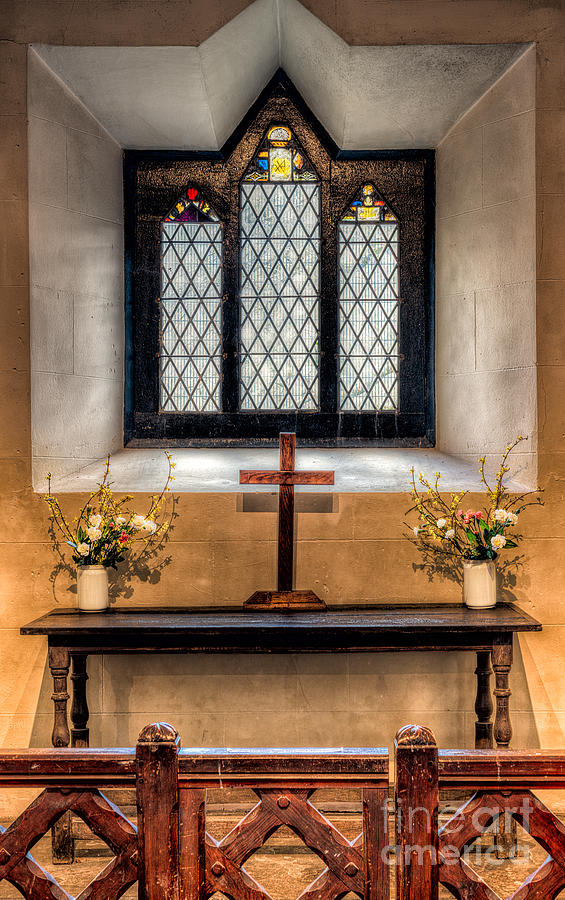 14th Century Chapel Photograph  - 14th Century Chapel Fine Art Print