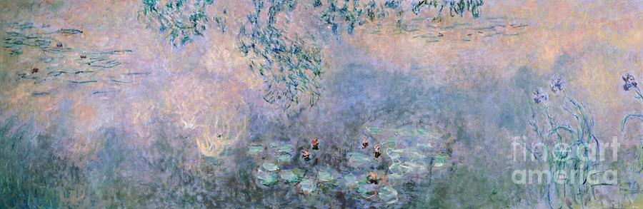 Art Painting - Water Lilies by Claude Monet