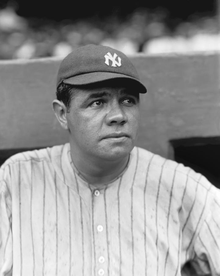 George H. Babe Ruth Photograph