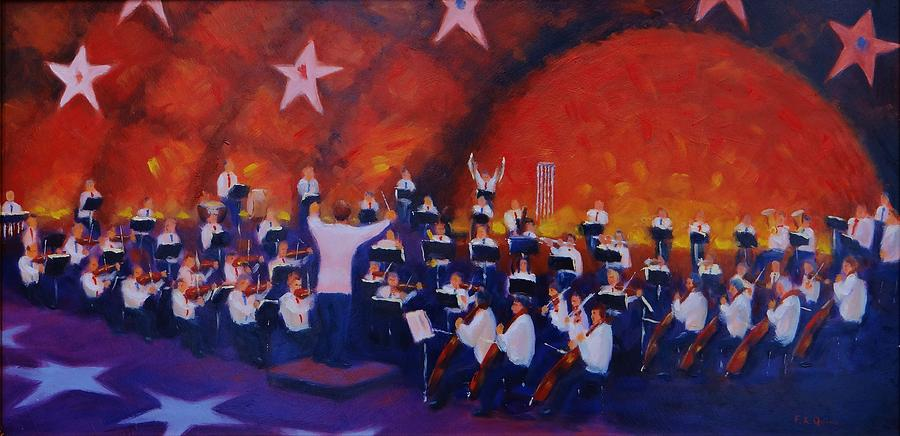 Orchestra Painting - 1812 Overture by Frank Quinn