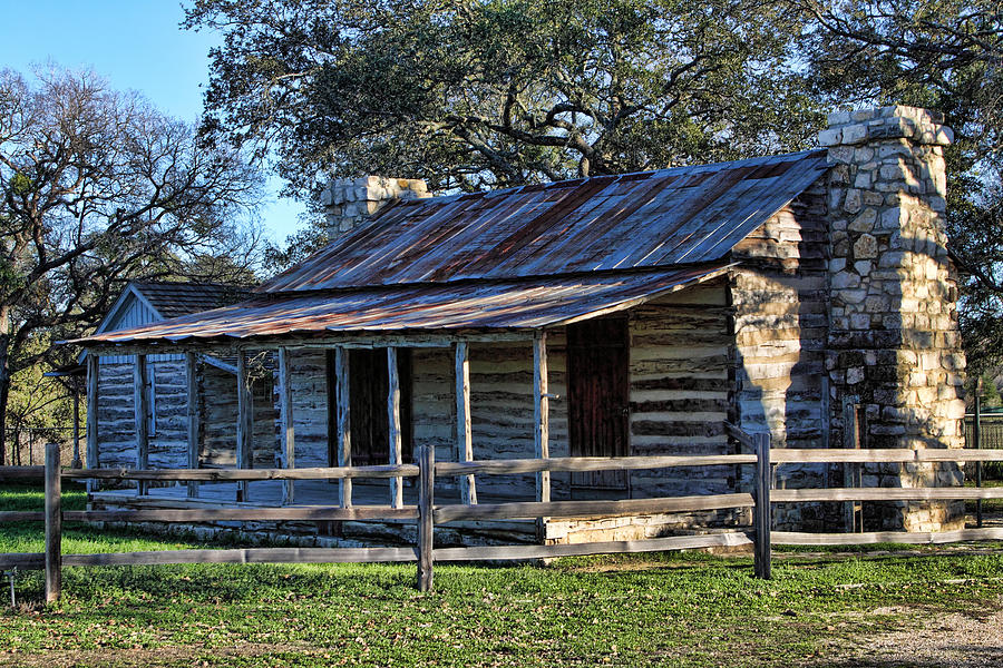 1860 Log Cabins Photograph  - 1860 Log Cabins Fine Art Print