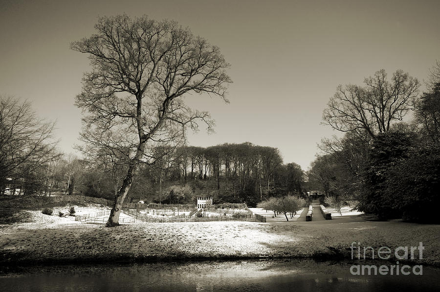 18th Century Winter Photograph  - 18th Century Winter Fine Art Print