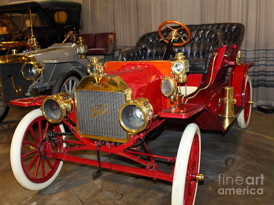 1908 Ford Model T Touring 5d25558 Photograph  - 1908 Ford Model T Touring 5d25558 Fine Art Print
