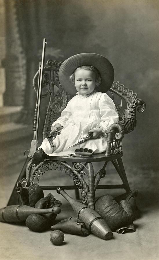 1910 American Tomboy Photograph