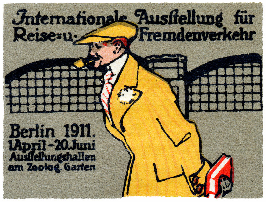 1911 Berlin International Travel Expo Painting