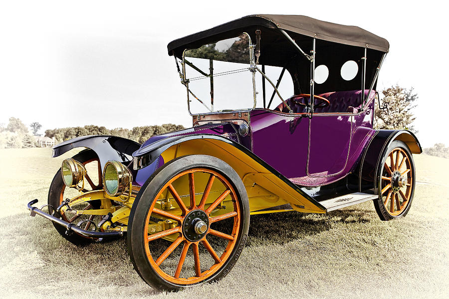 1913 Argo Electric Model B Roadster Photograph  - 1913 Argo Electric Model B Roadster Fine Art Print