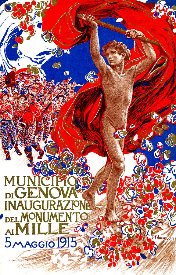 1915 Unified Italy Poster Painting