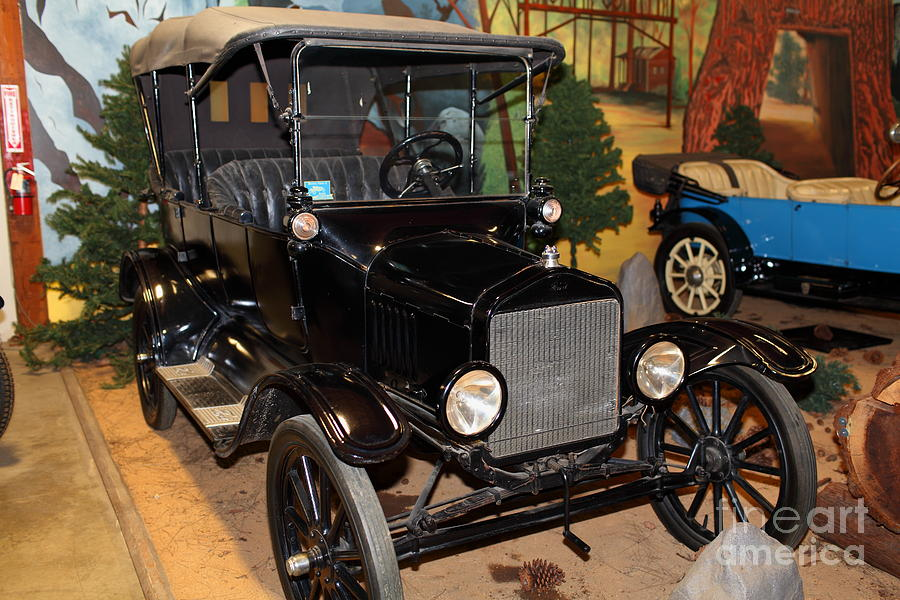 1917 Ford Model T Touring 5d25581 Photograph  - 1917 Ford Model T Touring 5d25581 Fine Art Print