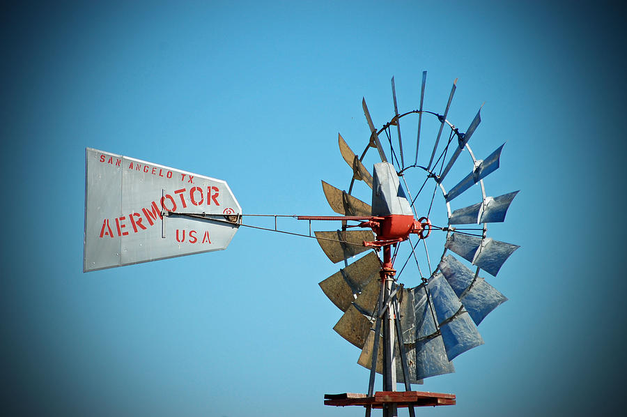 1920 Aermotor Windmill is a photograph by Holly Blunkall which was ...